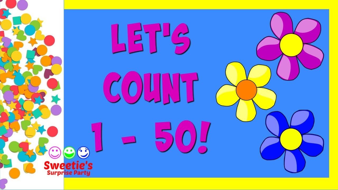 Learn To Count 1 To 50