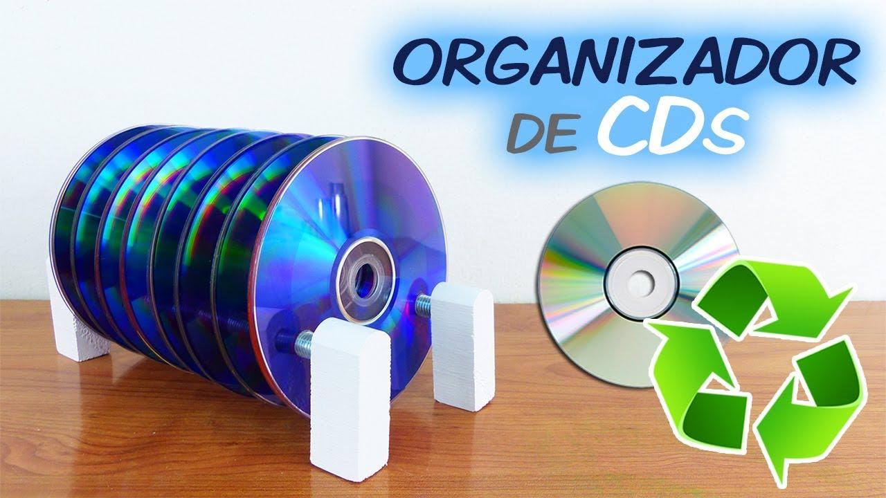 Como hacer un organizador de cds casero youtube - Como hacer un organizador de zapatos casero ...