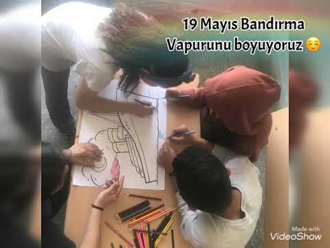 19 Mayis Bandirma Vapuru Boyama Youtube