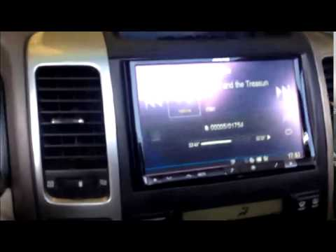 Toyota Land Cruiser 70 >> Cómo instalar radio alpine en toyota land cruise - YouTube