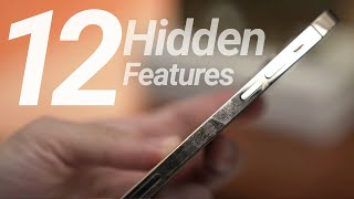 iPhone 12 & 12 Pro Hidden Features! New Apple Secrets