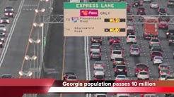 Georgia population reaches 10 million mark