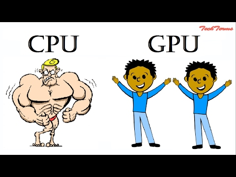 GPU vs CPU || Difference-computer processor and graphics card || graphic card || video card