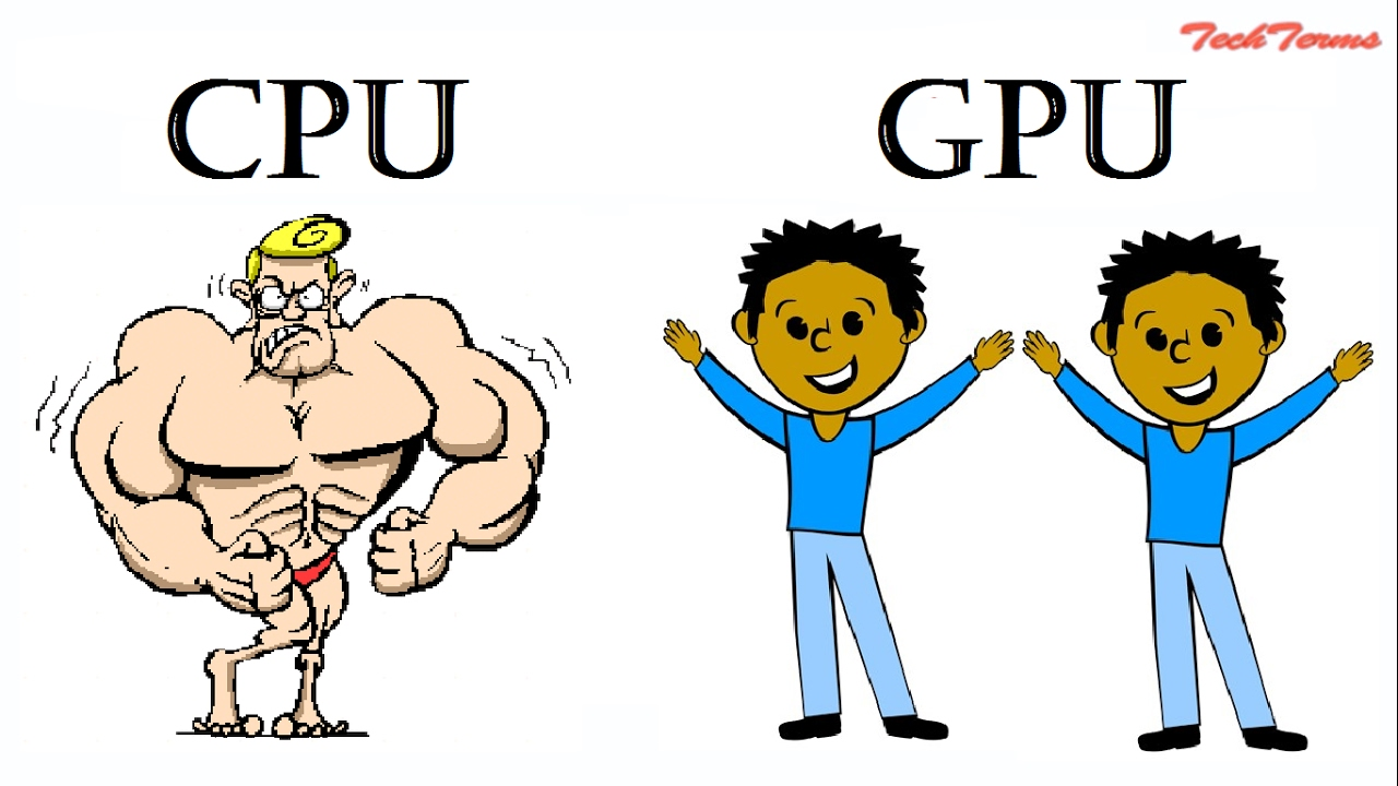 Download GPU vs CPU | Difference-computer processor and graphics card | graphic card | video card | TechTerms