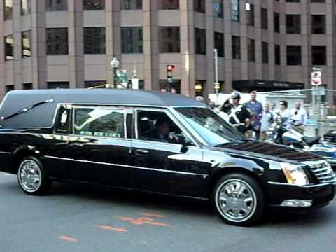 Senator Edward M. Kennedy Motorcade - Boston, MA (2nd Pass)