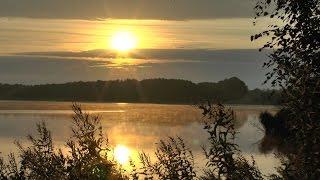 Faszinierende Morgenstimmung am Borgdorfer See.