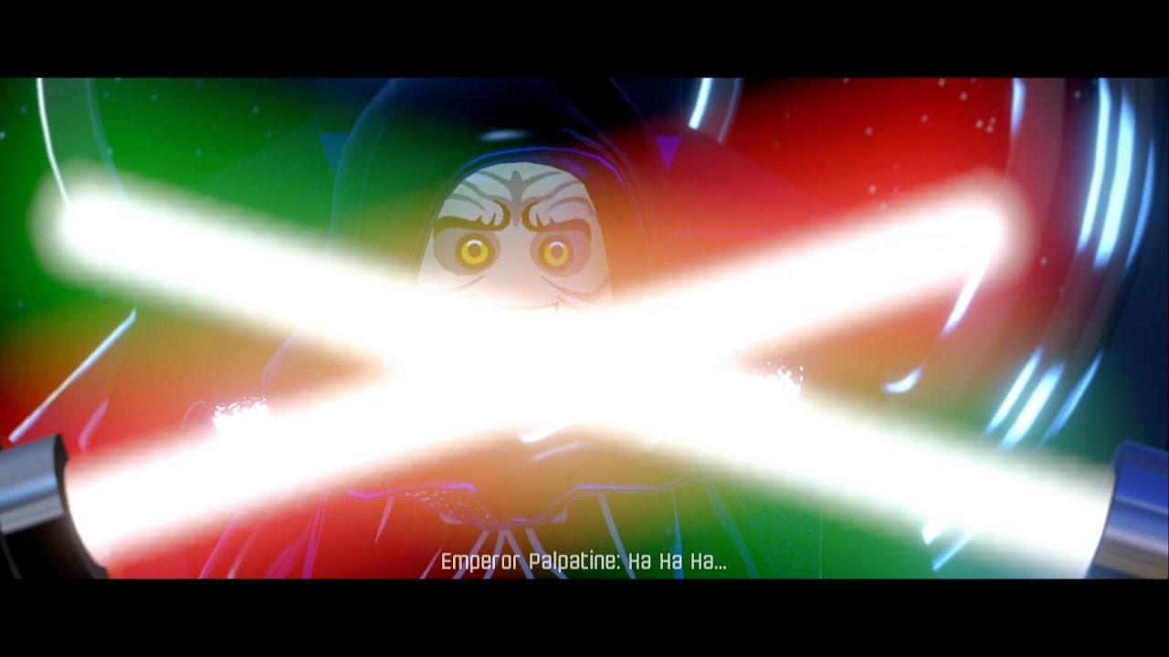 Star Wars Force Awakens 1080p: Lego Star Wars The Force Awakens: Darth Vader & Luke Vs