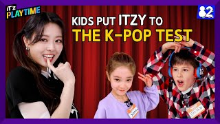 (CC) 🔥K-pop Battle: ITZY vs. Kids | IT'z PLAYTIME EP.2