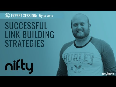 Successful Link Building Strategies - Stukent Expert Session with Ryan Joos