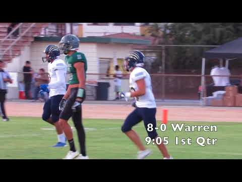 High School Football: Warren at Buena Park