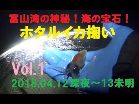 【海の宝石】富山湾ホタルイカ掬い Vol.1 2018.04.12(木)深夜~13(金)未明