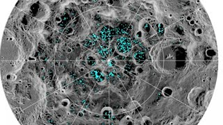 NASA says there's water on the moon's surface