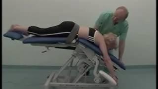 видео US Medica Alfa m Стационарный массажный стол