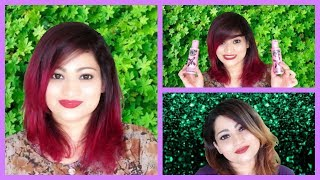 DRASTIC Crazy Color HAIR MAKEOVER in detail | Shiny Pink Reddish Hair | Nykaa |