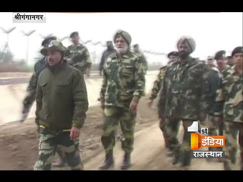 Shri Ganganagar : 'Operation Sard Hawa' started at the border