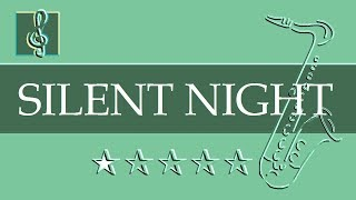 Alto Sax & Guitar Duet - Silent Night - Gruber - Christmas Song (Sheet music - Guitar chords)