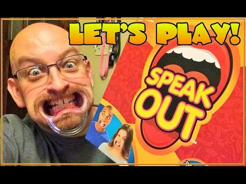 Brand New Genuine Official Hasbro Game Speak Out Funny Mouthpiece ...