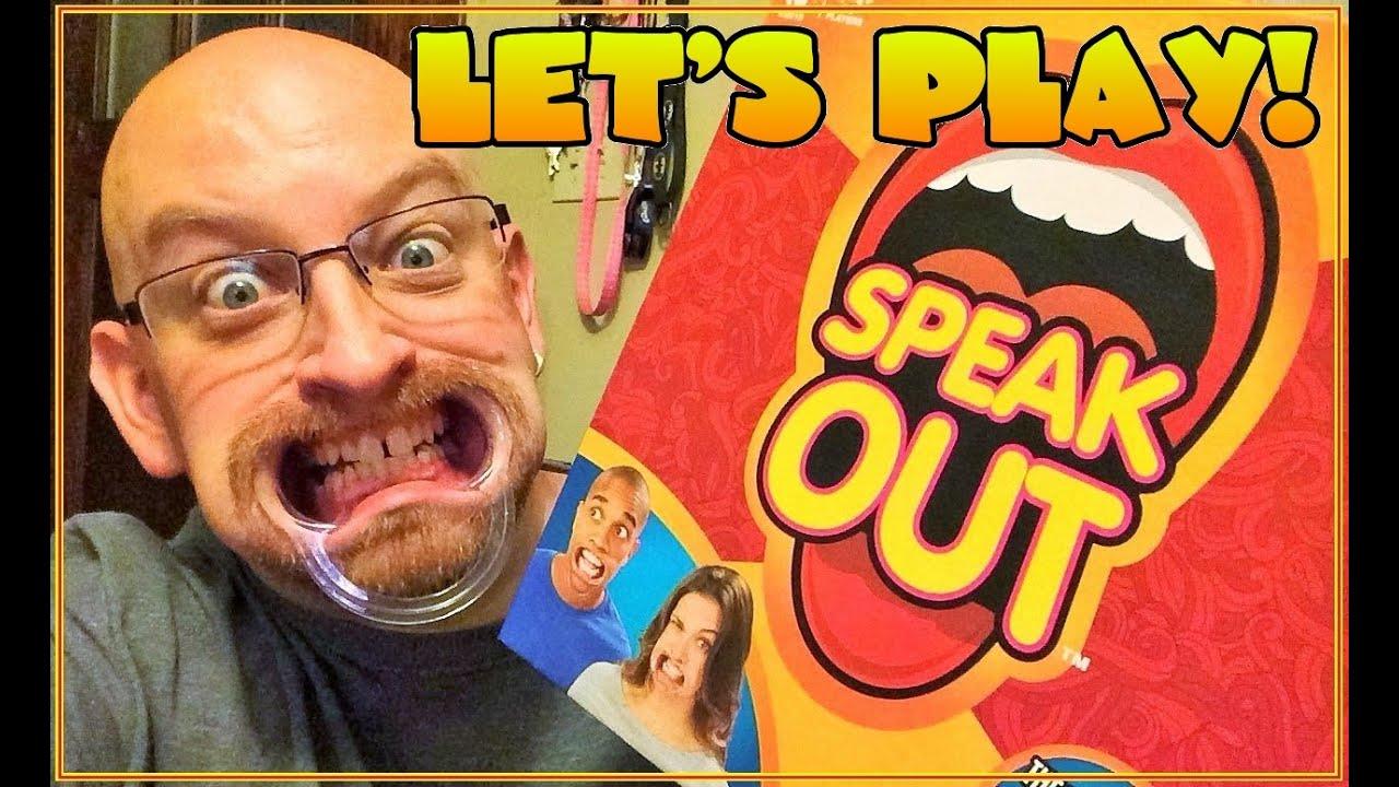 Amazon.com: Hasbro Speak Out Game: Toys & Games