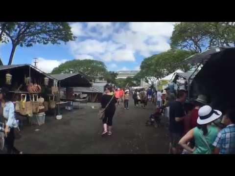 Aloha Stadium Swap Meet (Flea Market) Honolulu Hawaii on the island of Oahu