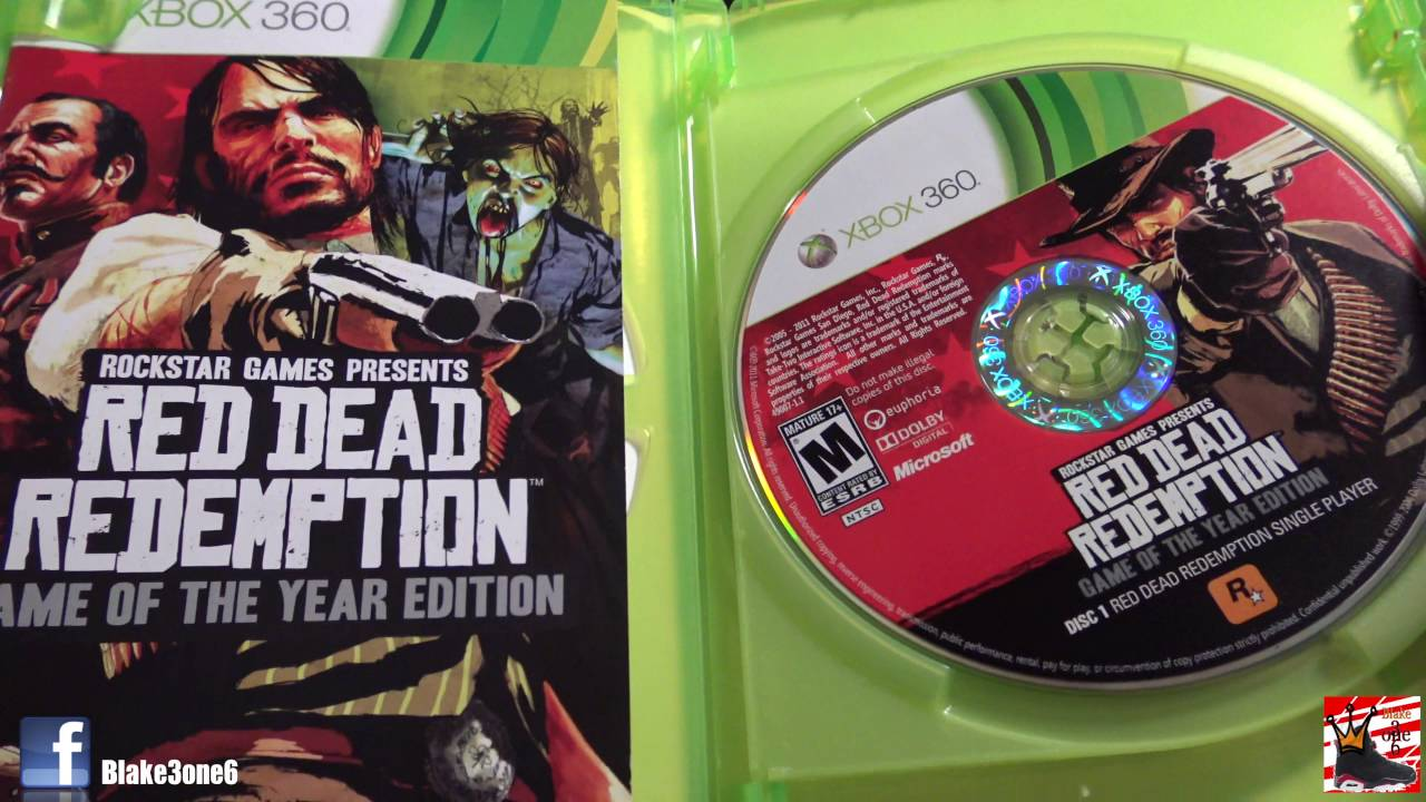Unboxing red dead redemption special edition (hd) youtube.