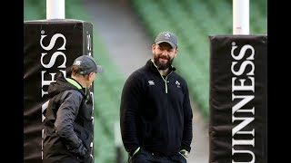 Irish Rugby TV: Andy Farrell Previews Ireland v South Africa