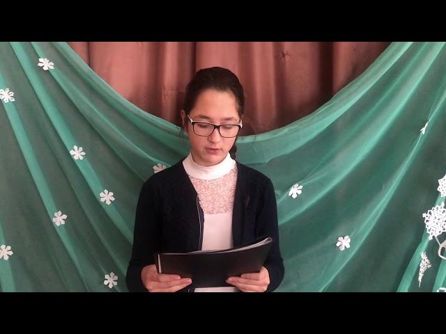 Изображение предпросмотра прочтения – СараГуменникова читает произведение «Чародейкою Зимою…» Ф.И.Тютчева