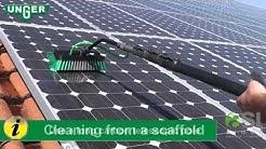 Solarreinigung mit UNGER HiFlo System