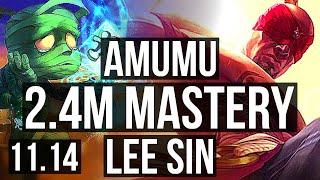 AMUMU vs LEE SIN (JUNGLE) | 2.…