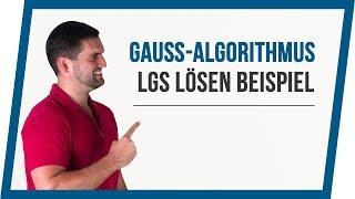 Gauß-Algorithmus / Lineare Gleichungssysteme lösen | Mathe by Daniel Jung