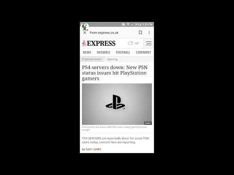 UPDATE: PSN SERVERS ARE DOWN