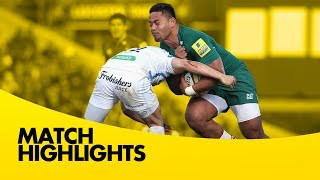 Leicester Tigers vs Exeter Chiefs - Aviva Premiership Rugby 2013/14