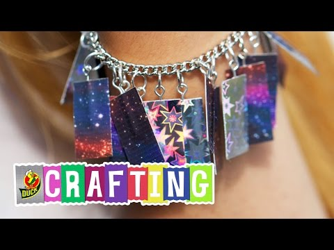 How to Craft a Duct Tape Prism Charm Bracelet