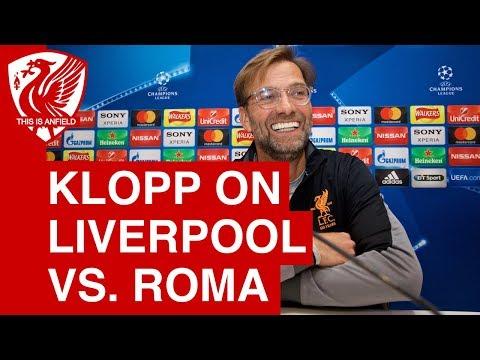 Jurgen Klopp Pre-Match Press Conference | Liverpool vs. Roma (Champions League)