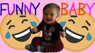 FUNNY BABY LAUGHING  👶 🤣    Shaun Throwback