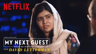 David and Malala Yousafzai Sound Off on Trump | My Next Guest Needs No Introduction | Netflix