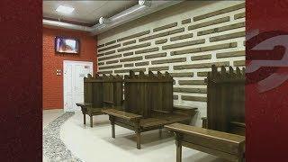 В Новосибирске восстановили баню, в которой не было ремонта более 40 лет