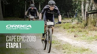 Etapa 1 Cape Epic 2019   Orbea Factory Team