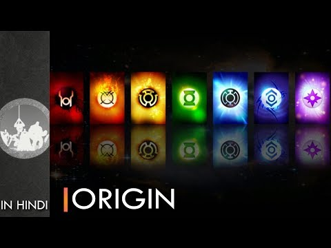 Origin Of All The Lantern Corps   Explained In Hindi   Dc Comics