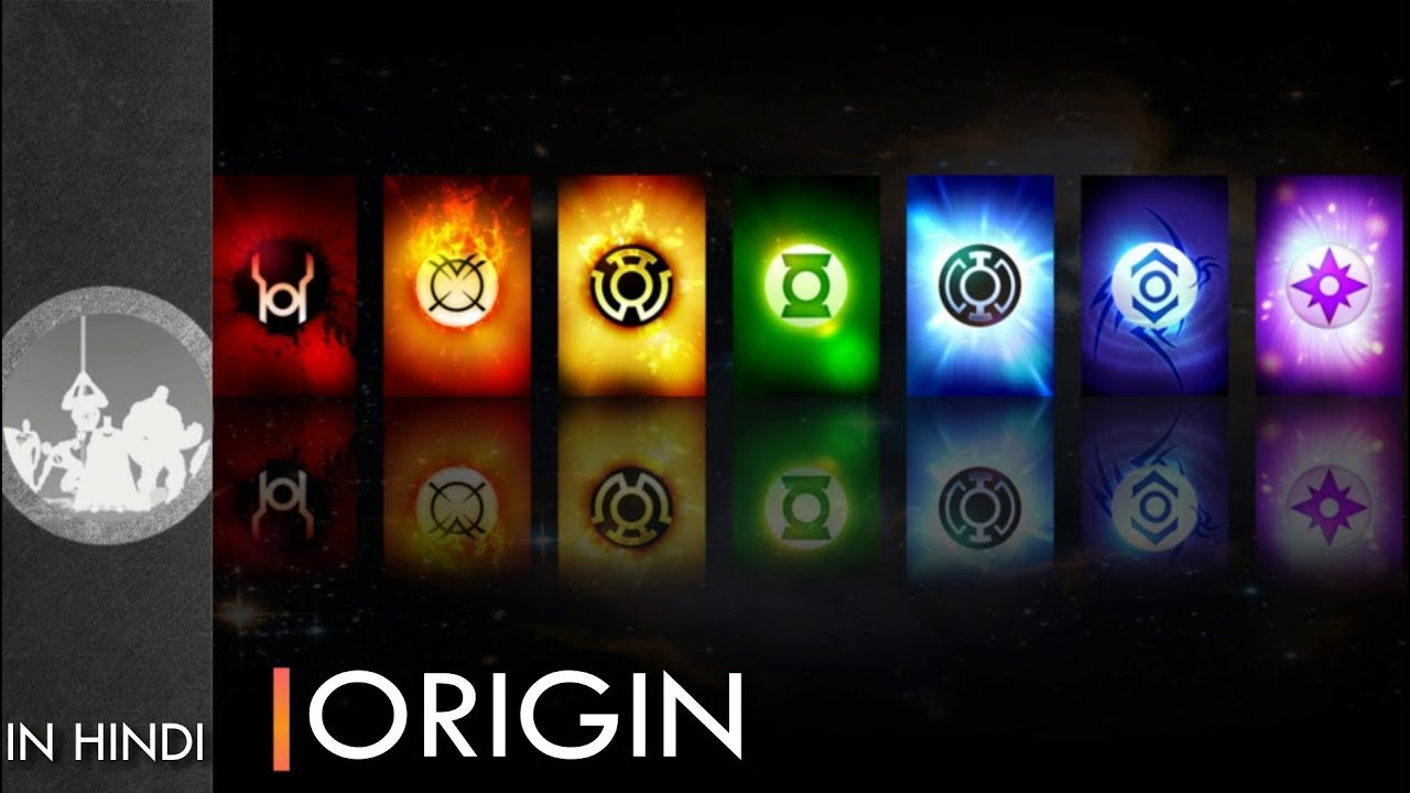 Download Origin Of All The Lantern Corps   Explained In Hindi   Dc Comics