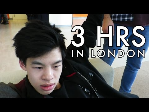 SPENDING 3 HOURS IN LONDON!