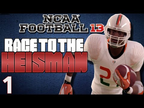 NCAA Football 13 - Heisman Challenge Ft. Desmond Howard Ep.1 Week 1