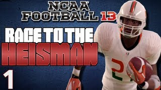 NCAA Football 13 - Heisman Challenge Ft. Desmond Howard Ep.1 Week 1