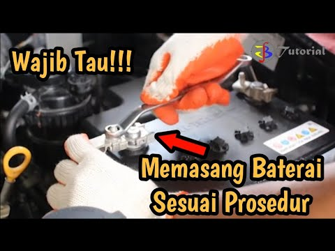 Wajib Tau!!! Memasang Baterai Mobil Sesuai SOP