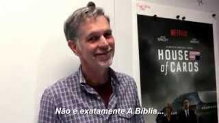 Reed Hastings (o dono da Netflix) responde Silvio Santos