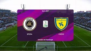 Spezia vs Chievo Verona - Serie B [11/08/2020] - PES 2020