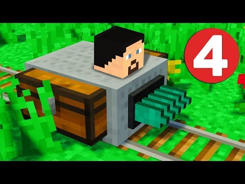 Ферма дерева и супер кирка - Сборка Майнкрафт с модами #4 (Steves Carts 2 | Tinkers Construct)
