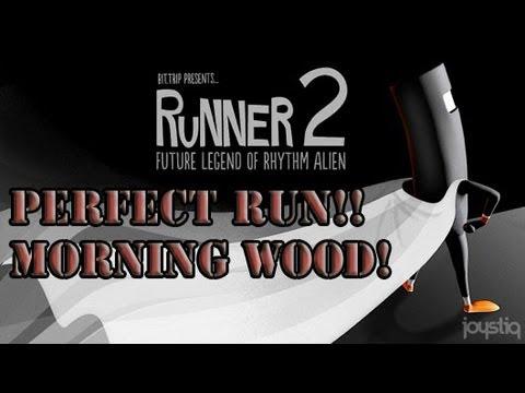 bit trip Runner 2 Walkthrough Gameplay Perfect Run [HD] Level 3-4 Morning Wood