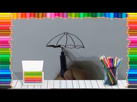 belajar-cara-menggambar-payung