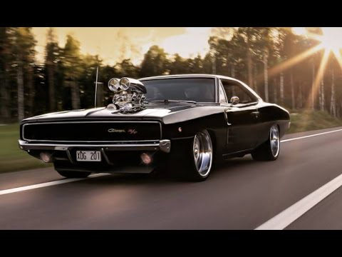 Dodge Charger Burnout - YouTube