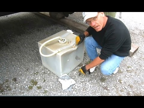 Boating How To Holding Tank Replacement Project Part 1